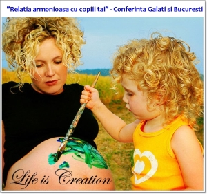 Relatia armonioasa cu copiii tai