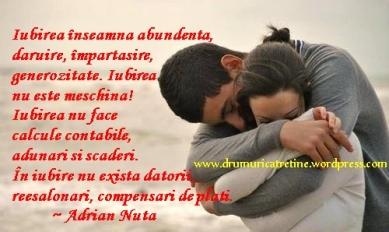 iubire fara conditii